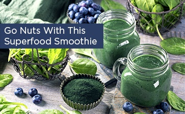 Go nuts with this Superfood Smoothie!